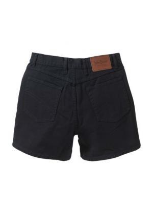Джинсовые шорты Regular Fit (черный) bonprix. Цвет: черный