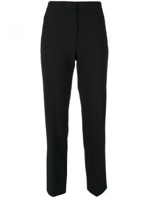 Прямые брюки Victoria Beckham. Цвет: чёрный