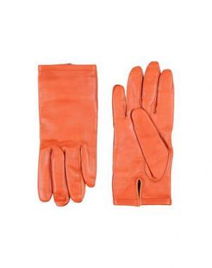 Перчатки MAISON MARGIELA. Цвет: желто-коричневый