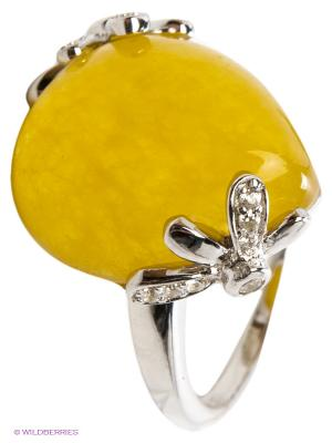 Кольцо BALEX. Цвет: желтый