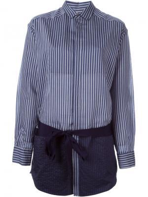 Рубашка 161 Caravan A.F.Vandevorst. Цвет: синий