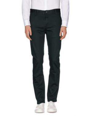 Повседневные брюки KR3W. Цвет: темно-зеленый