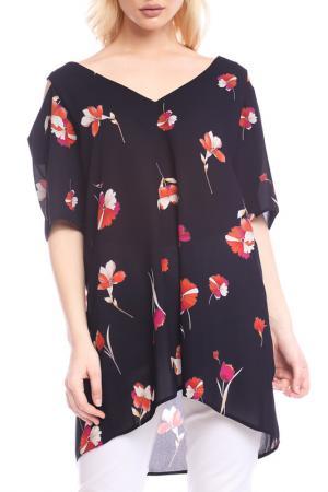 Блуза Emma Monti. Цвет: navy