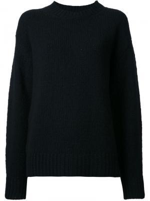 Вязаный свитер Marc Jacobs. Цвет: чёрный