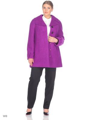 Пальто Fart Favorita. Цвет: фиолетовый
