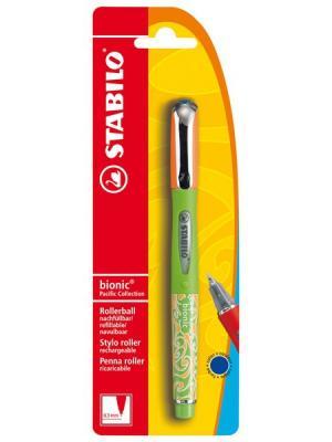 Ручка BIONIC PACIFIC корп зеленый в бл Stabilo. Цвет: зеленый