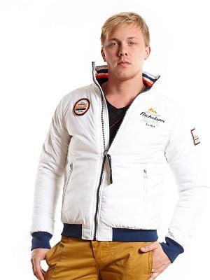 Куртка NICKELSON. Цвет: белый