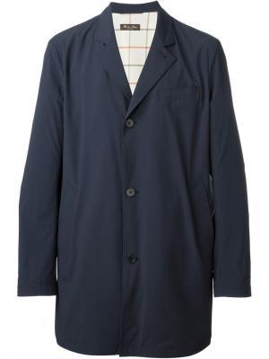 Классическое пальто Loro Piana. Цвет: синий