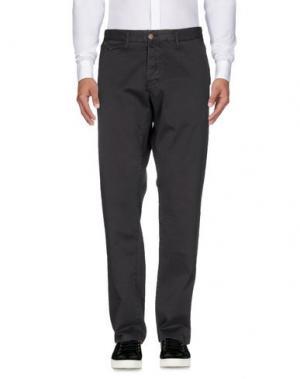Повседневные брюки SEAL KAY INDEPENDENT. Цвет: стальной серый
