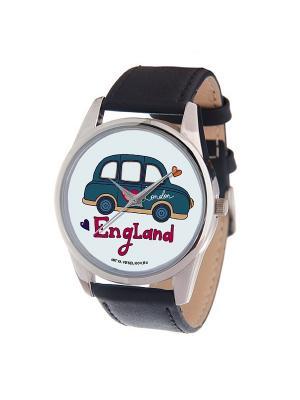Часы Mitya Veselkov Машинка England Арт. MV-175. Цвет: черный