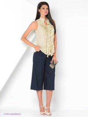 Блузка COMPAGNIA ITALIANA. Цвет: кремовый