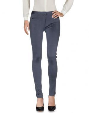 Повседневные брюки 1-ONE. Цвет: грифельно-синий