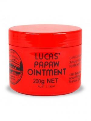 Бальзам для губ Lucas Papaw 200 гр. Цвет: красный