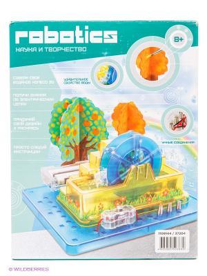 Научный опыт Водяное колесо с красками Amazing Toys. Цвет: голубой, желтый