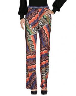 Повседневные брюки CLÓ by CLAUDIA B.. Цвет: зеленый-милитари