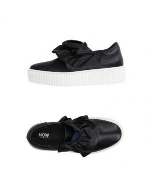 Низкие кеды и кроссовки NOW. Цвет: черный