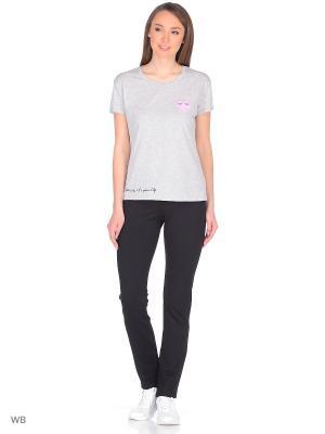 Леггинсы-брюки, модель LEGGY UNIVERS 01 K007 Giulia. Цвет: черный