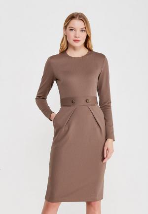 Платье Anastastia Kovall. Цвет: коричневый