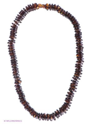 Колье Migura. Цвет: темно-коричневый