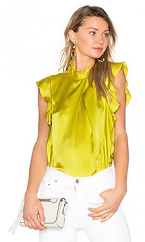 Блузка sharon Marissa Webb. Цвет: желтый