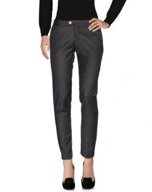 Повседневные брюки BARONIO. Цвет: стальной серый