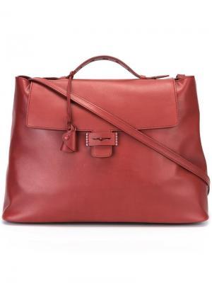 Большая сумка на плечо Myriam Schaefer. Цвет: красный