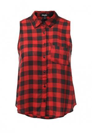 Блуза Jennyfer. Цвет: красный