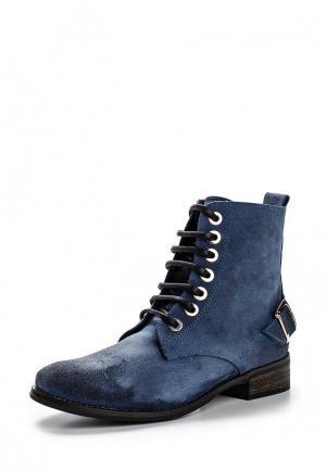 Ботинки Cuple. Цвет: синий