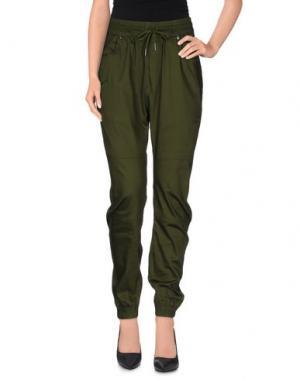 Повседневные брюки PUBLISH. Цвет: зеленый-милитари