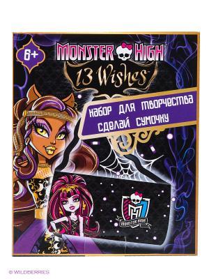 НаборСделай сумочку Monster High Centrum. Цвет: темно-фиолетовый, черный