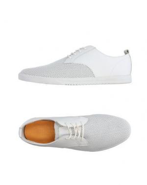 Низкие кеды и кроссовки CLAE. Цвет: белый