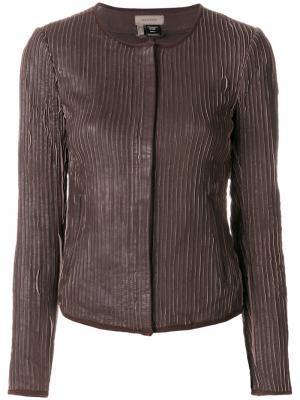 Куртка Umika Tony Cohen. Цвет: коричневый