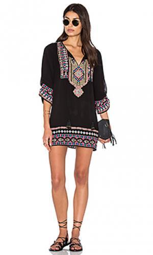 Платье samantha Tolani. Цвет: черный