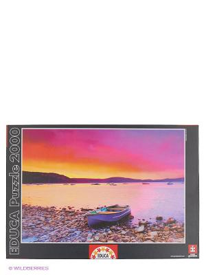 Пазл Закат, 2000 деталей Educa. Цвет: черный