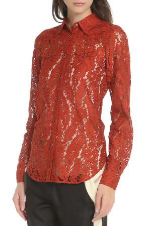 Рубашка N°21. Цвет: терракотовый