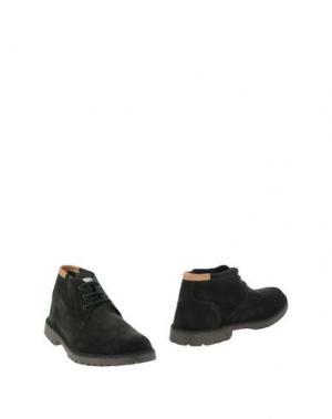Полусапоги и высокие ботинки ANGELO NARDELLI. Цвет: темно-зеленый