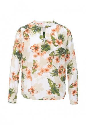 Блуза Napapijri. Цвет: разноцветный