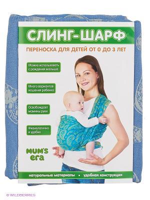 Слинг-шарф Russian Style Mum`s Era. Цвет: лазурный
