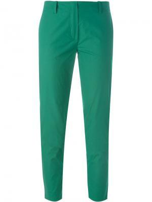 Укороченные брюки Vanessa Bruno. Цвет: зелёный