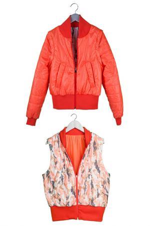 Куртка Orby. Цвет: оранжевый