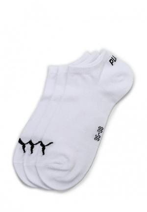 Комплект носков 3 пары PUMA. Цвет: белый