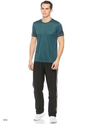 Футболка спортивная муж. FREELIFT CC  MYSGRN Adidas. Цвет: темно-зеленый