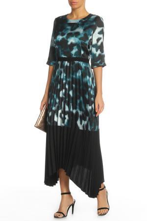 Платье Blacky Dress. Цвет: зеленый