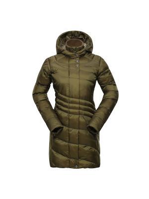 Пальто Alpine PRO. Цвет: хаки