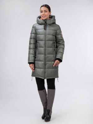 Пальто OSTRICH. Цвет: хаки