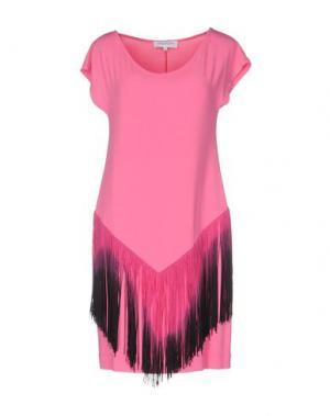 Короткое платье ANNA RACHELE. Цвет: светло-фиолетовый