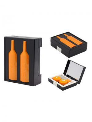 Набор для контактных линз WINE К1606-С07 Germes. Цвет: черный, оранжевый