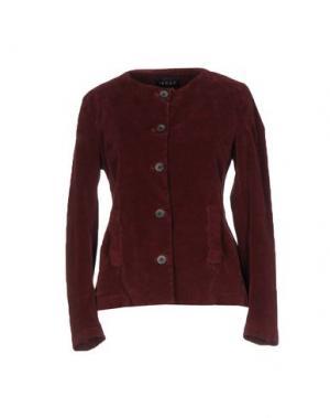 Пиджак IANUX. Цвет: красно-коричневый