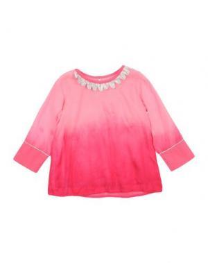 Блузка BEETLEJUICE. Цвет: светло-фиолетовый