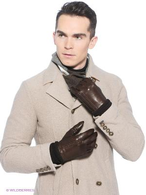 Перчатки Eleganzza. Цвет: антрацитовый, темно-коричневый, бронзовый